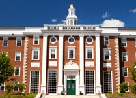 Harvard front page
